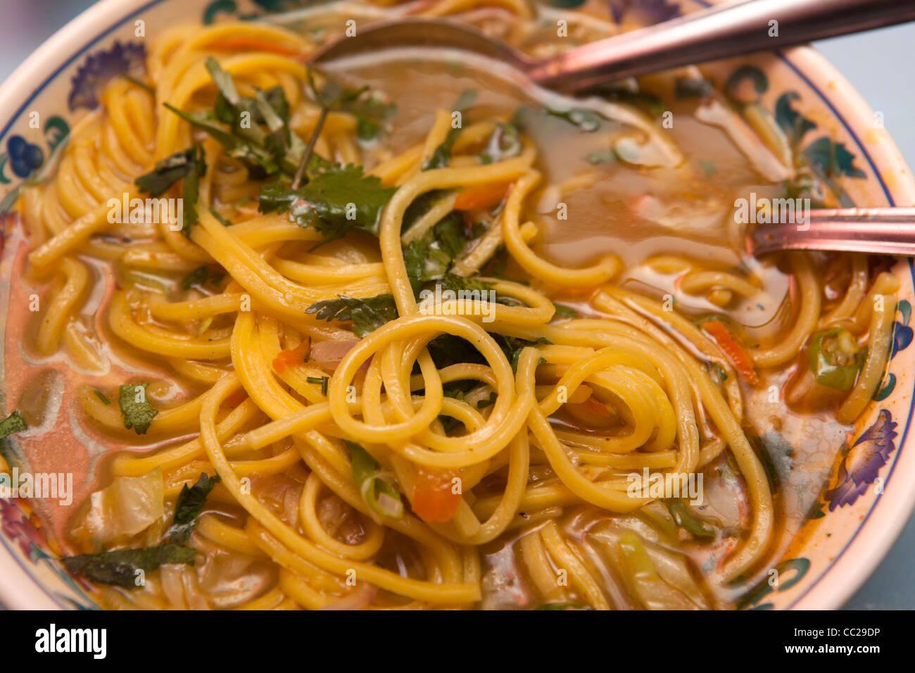 India arunachal pradesh ziro food plate of freshly for Arunachal pradesh cuisine