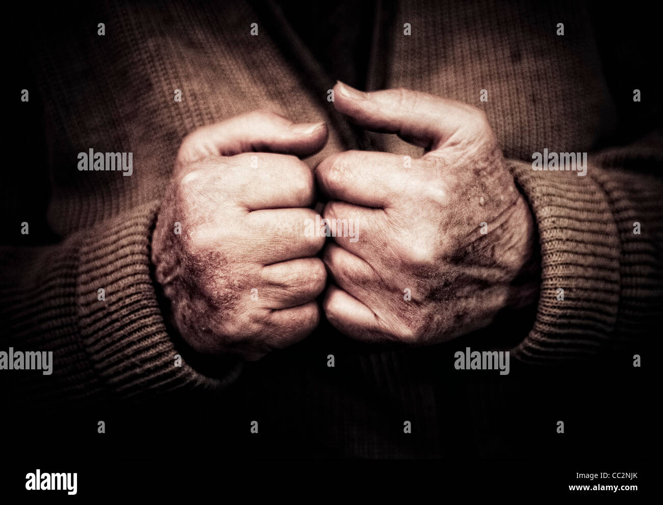 old mans hands stock photos old mans hands stock images alamy old man s hands clenched into fists stock image