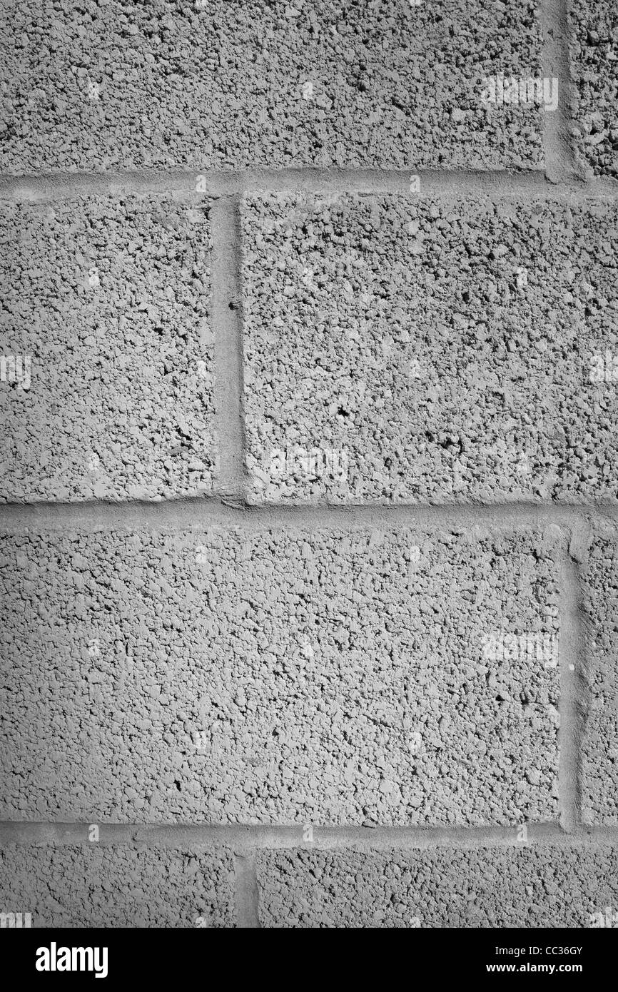 Gray Red Brick Building Block : Concrete or stone grey building blocks with mortar and