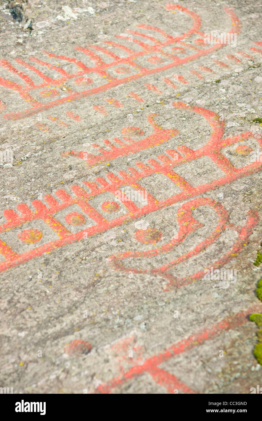 Old rock carvings stock photo royalty free image