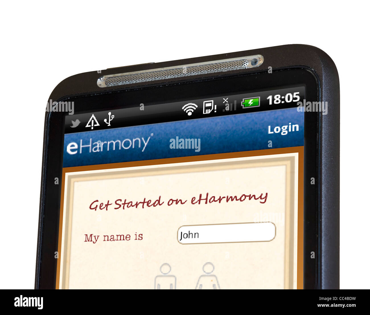 eharmony dating app