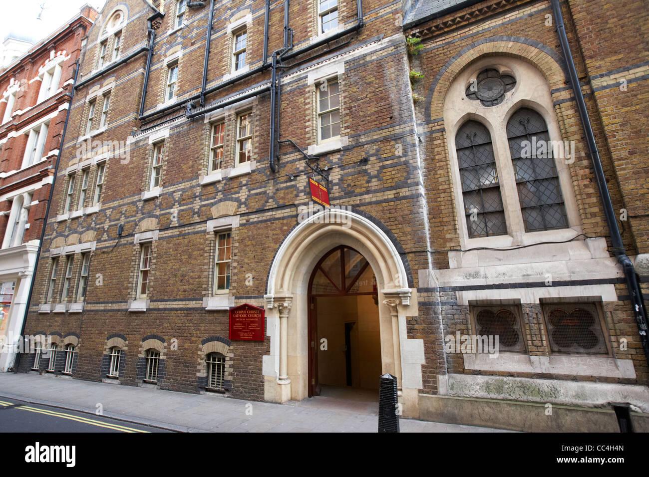 Corpus Christi Church Covent Garden London Garden Ftempo