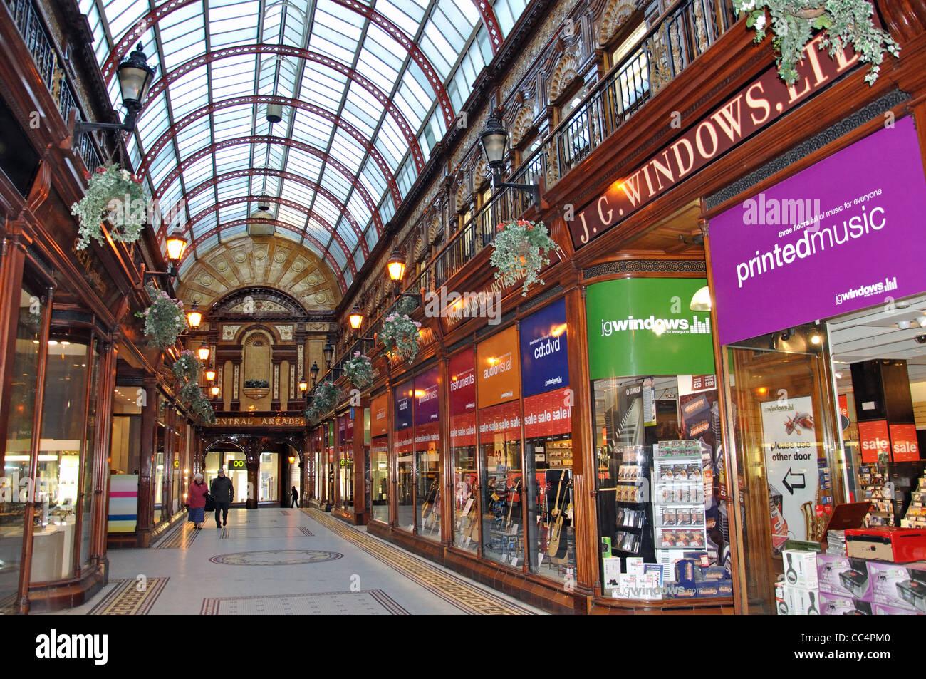 Superb Elegant Edwardian Central Arcade Grainger Town Newcastle Upon Short Hairstyles Gunalazisus