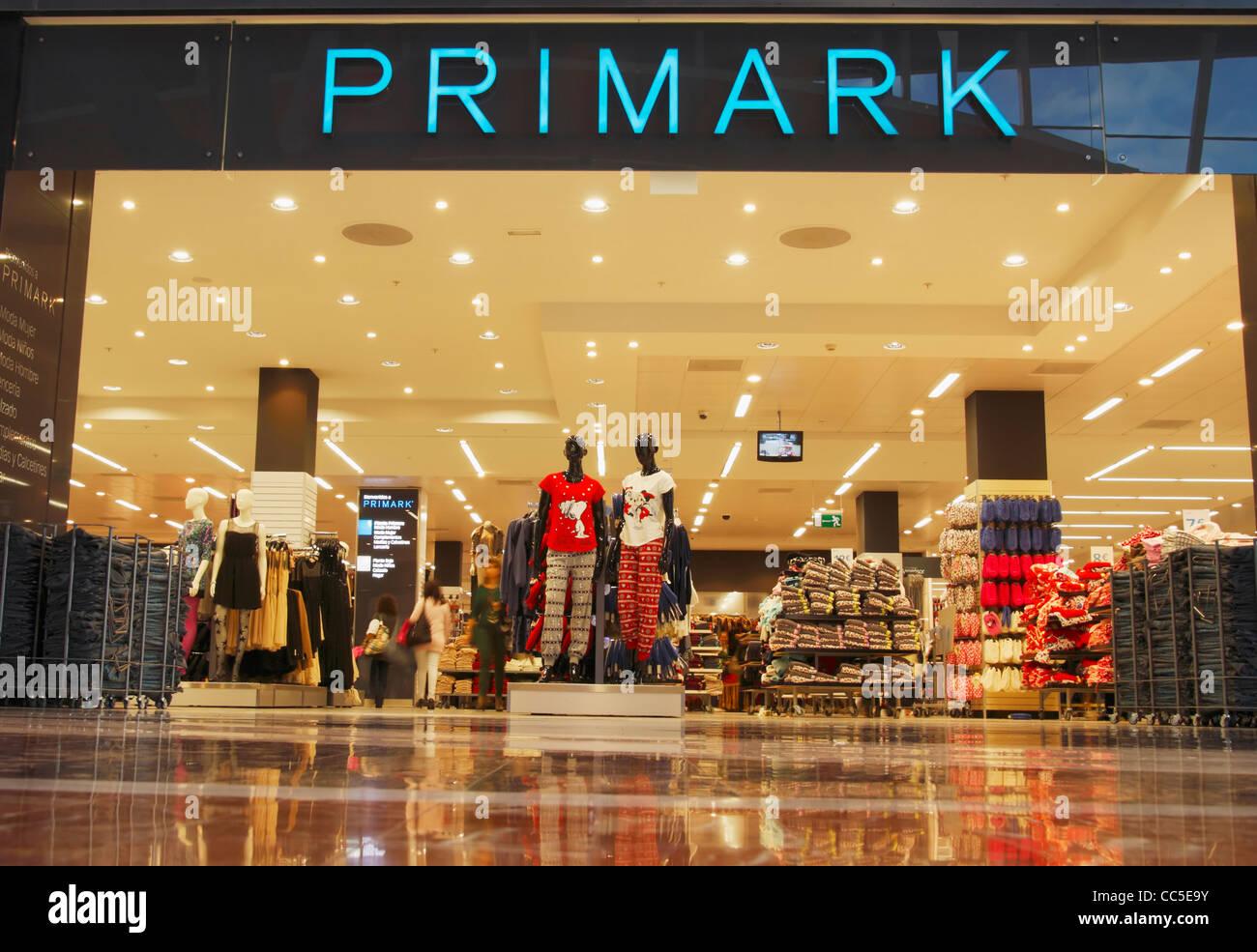 Primark store at el mirador shopping centre jinamar las - Showroom las palmas ...