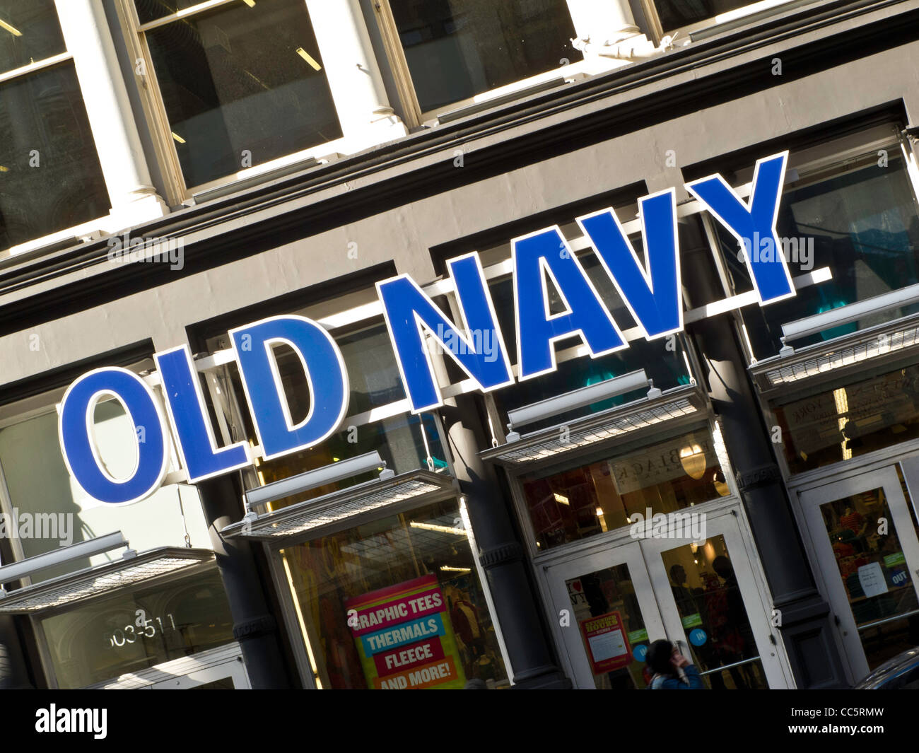 Us navy logo stock photos us navy logo stock images alamy old navy retail storefront stock image buycottarizona
