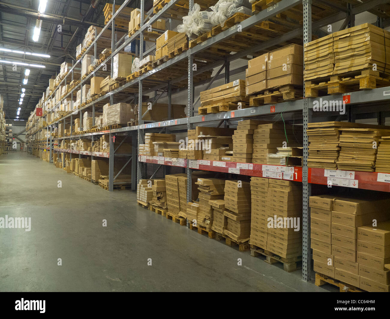 ikea store warehouse stock photo royalty free image 41931952 alamy. Black Bedroom Furniture Sets. Home Design Ideas