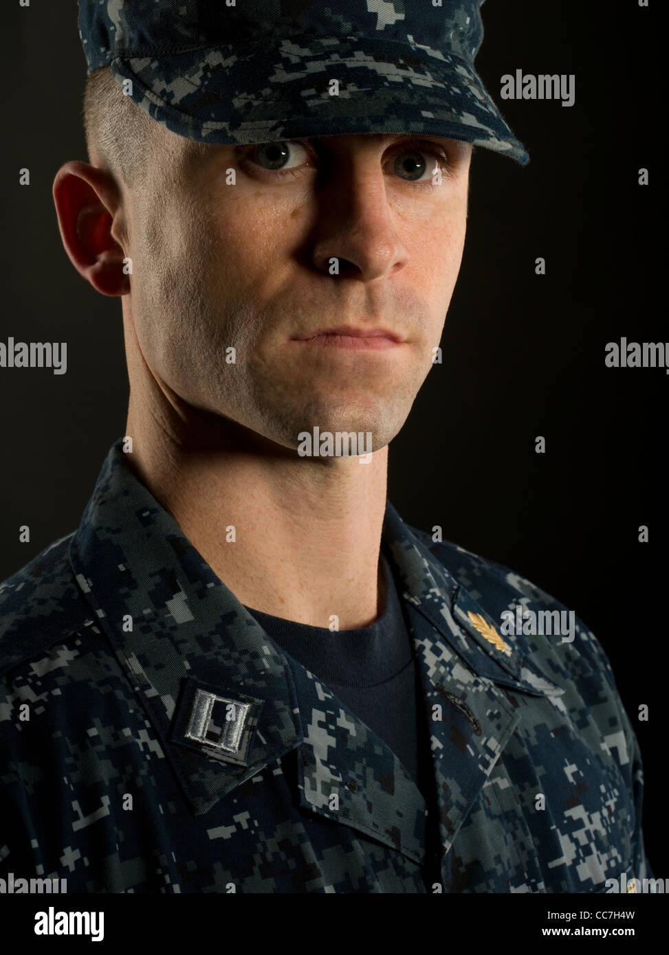 United States Navy Officer in Navy Working Uniform Stock ... - photo #9