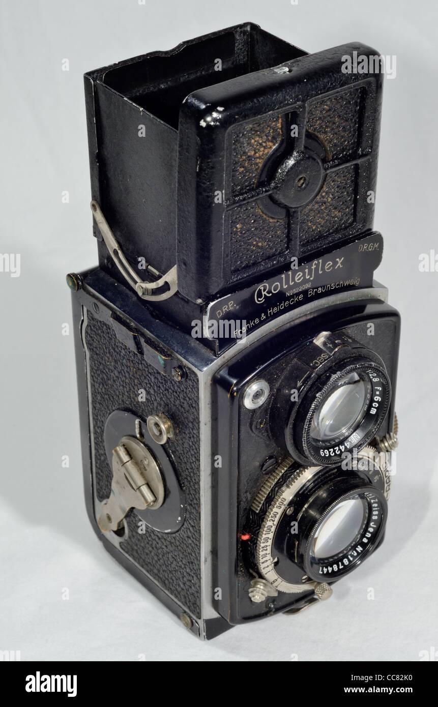 Minolta Miniflex. 4x4cm TLR that takes 127 film. If you buy me ...