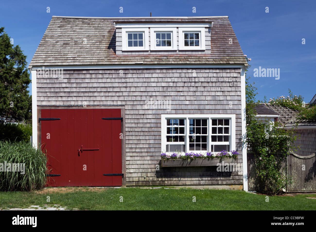 Shingle Style Barn House Siasconset Village Nantucket