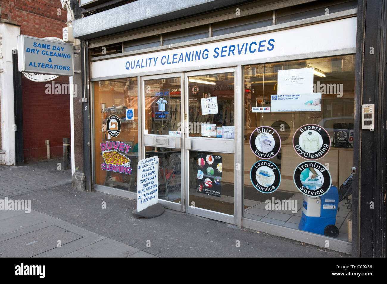 Dry Cleaning And Laundry Shop In Cricklewood North London