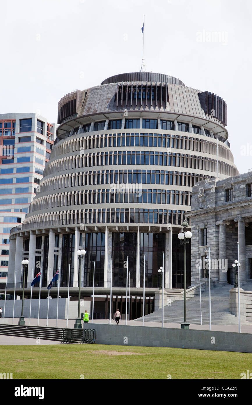 Wellington, New Zealand. Prime Ministeru0027s Office Building,