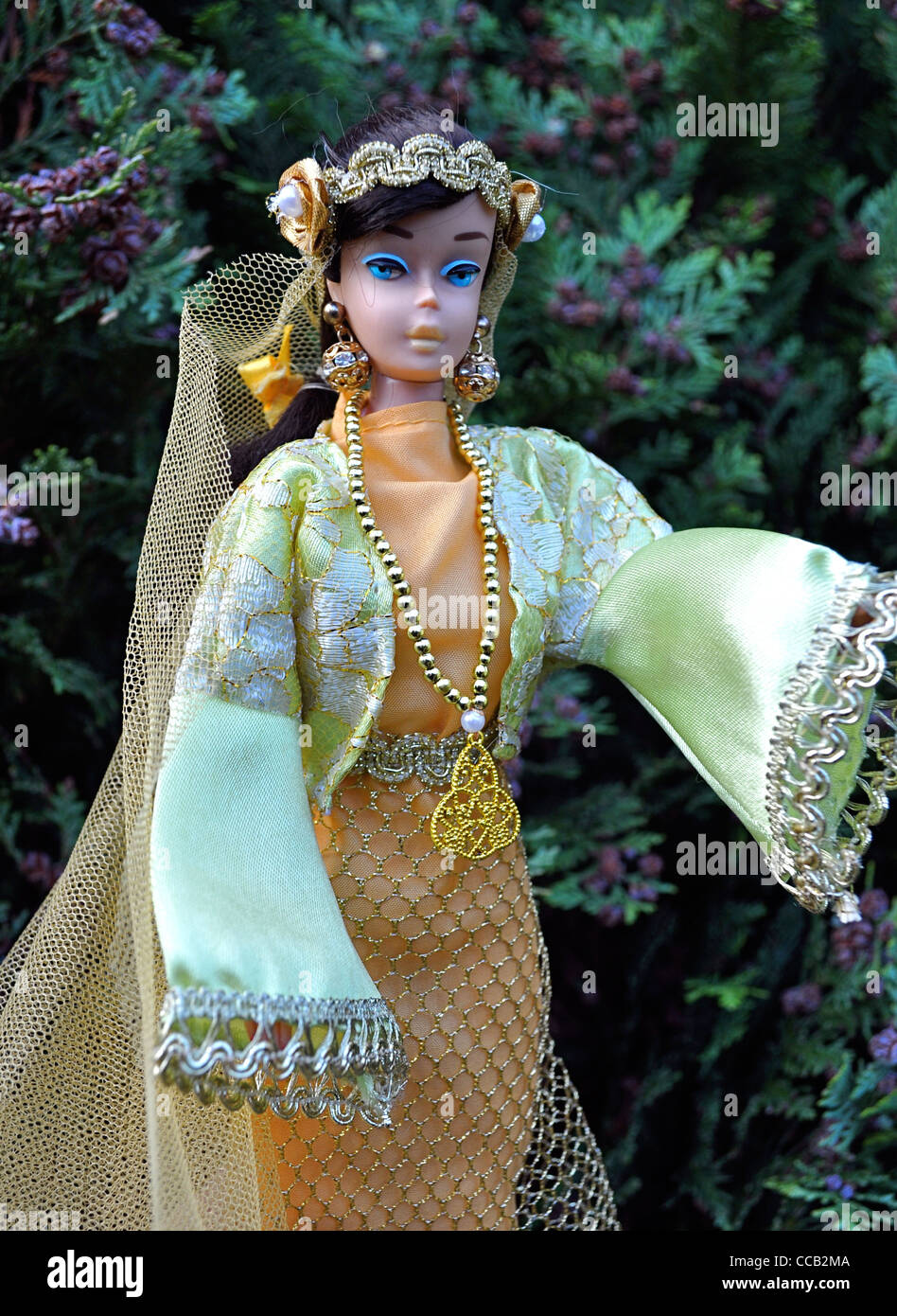 Traditional syrian dress stock photos traditional syrian dress vintage 1963 brunette swirl ponytail barbie doll syria costume syrian national costume traditional middle publicscrutiny Image collections