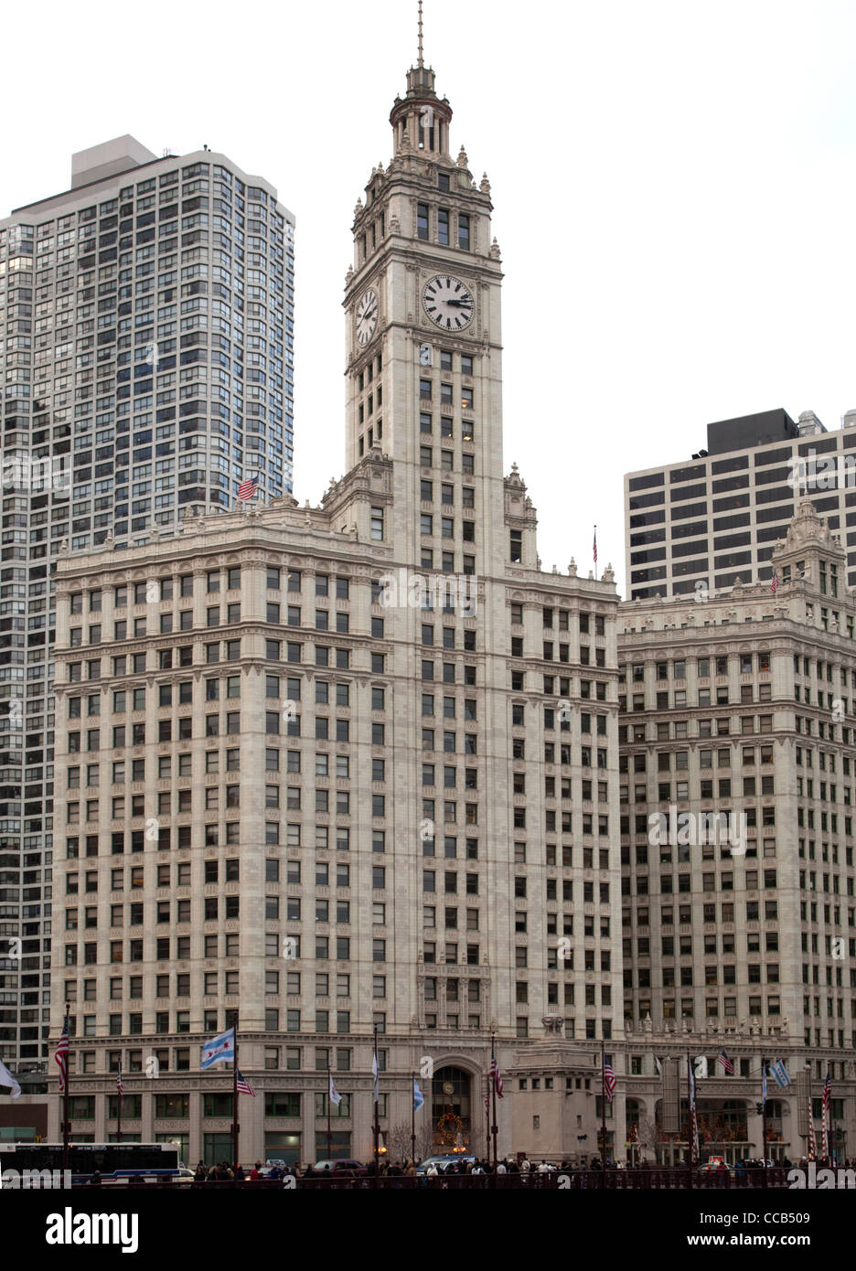 Wrigley building on north michigan avenue on chicagos near north wrigley building on north michigan avenue on chicagos near north side buycottarizona Images