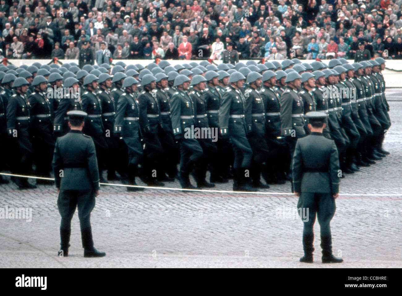 Military Parade Of The National People S Army Nva Of The