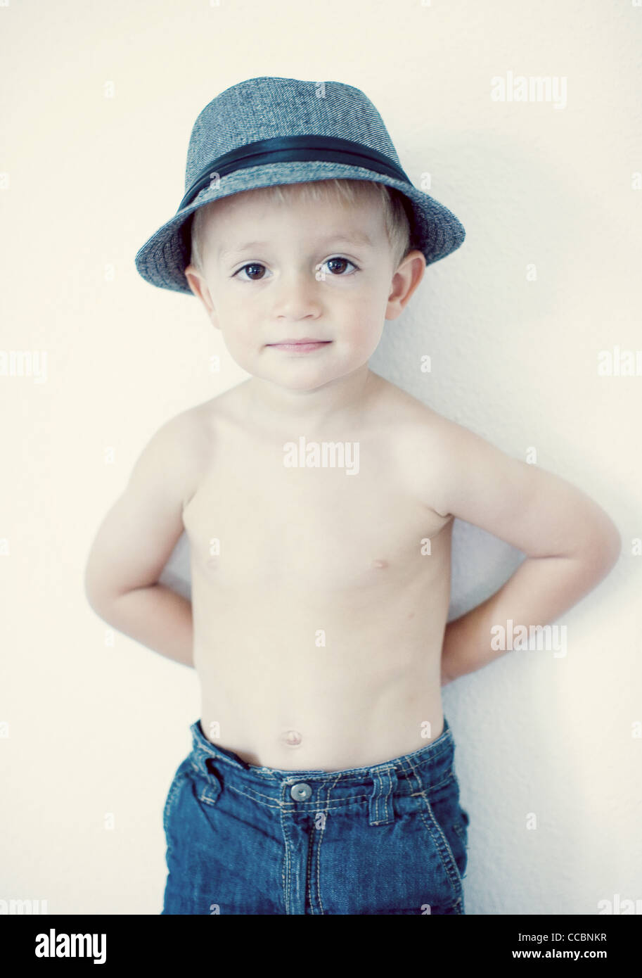 nude toddlers Semi-naked toddler, portrait
