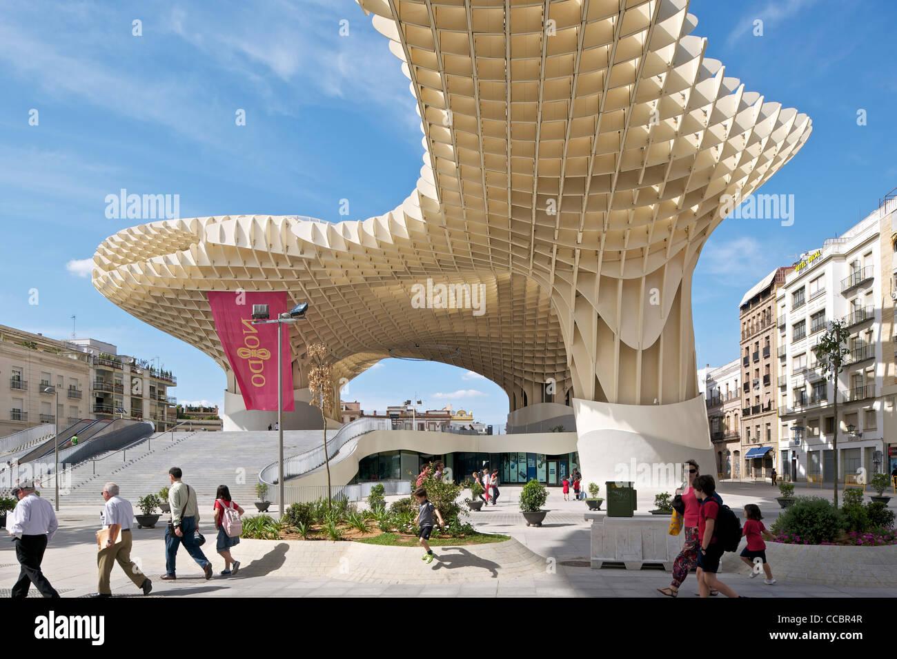 METROPOL PARASOL, JURGEN MAYER H ARCHITECTS, SEVILLA, SPAIN, 2011 ...