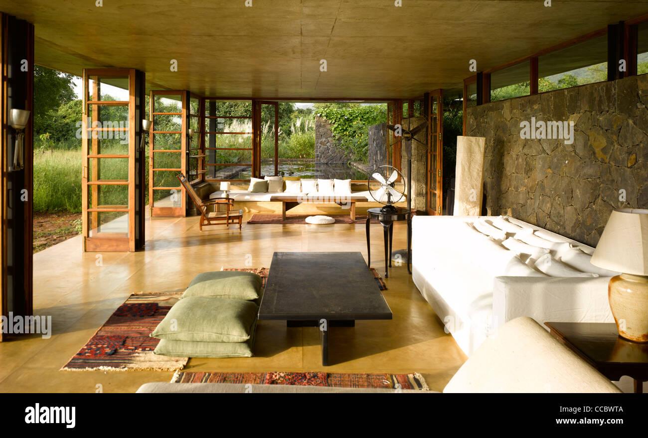 Utsav house main living room stock photo royalty free for Living room on main