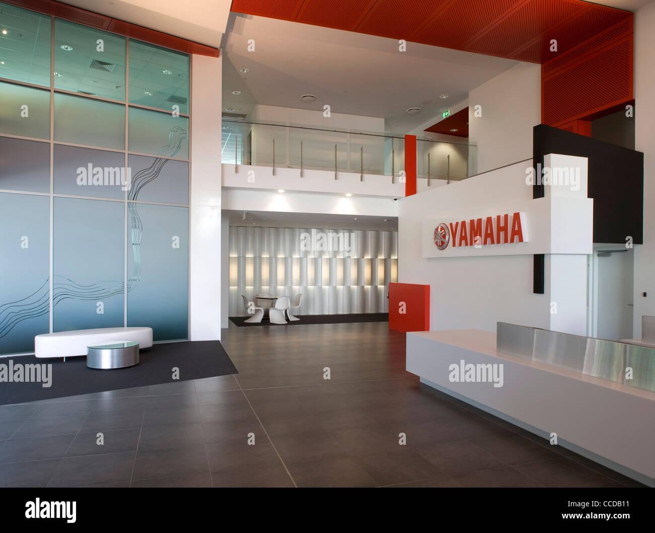 Yamaha office brisbane queensland biscoe wilson architects for Yamaha headquarters usa