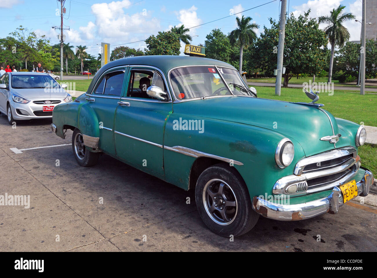 Chrysler Capital Bank >> Old American Chrysler Taxi, Havana (Habana), Cuba, Caribbean Stock Photo, Royalty Free Image ...