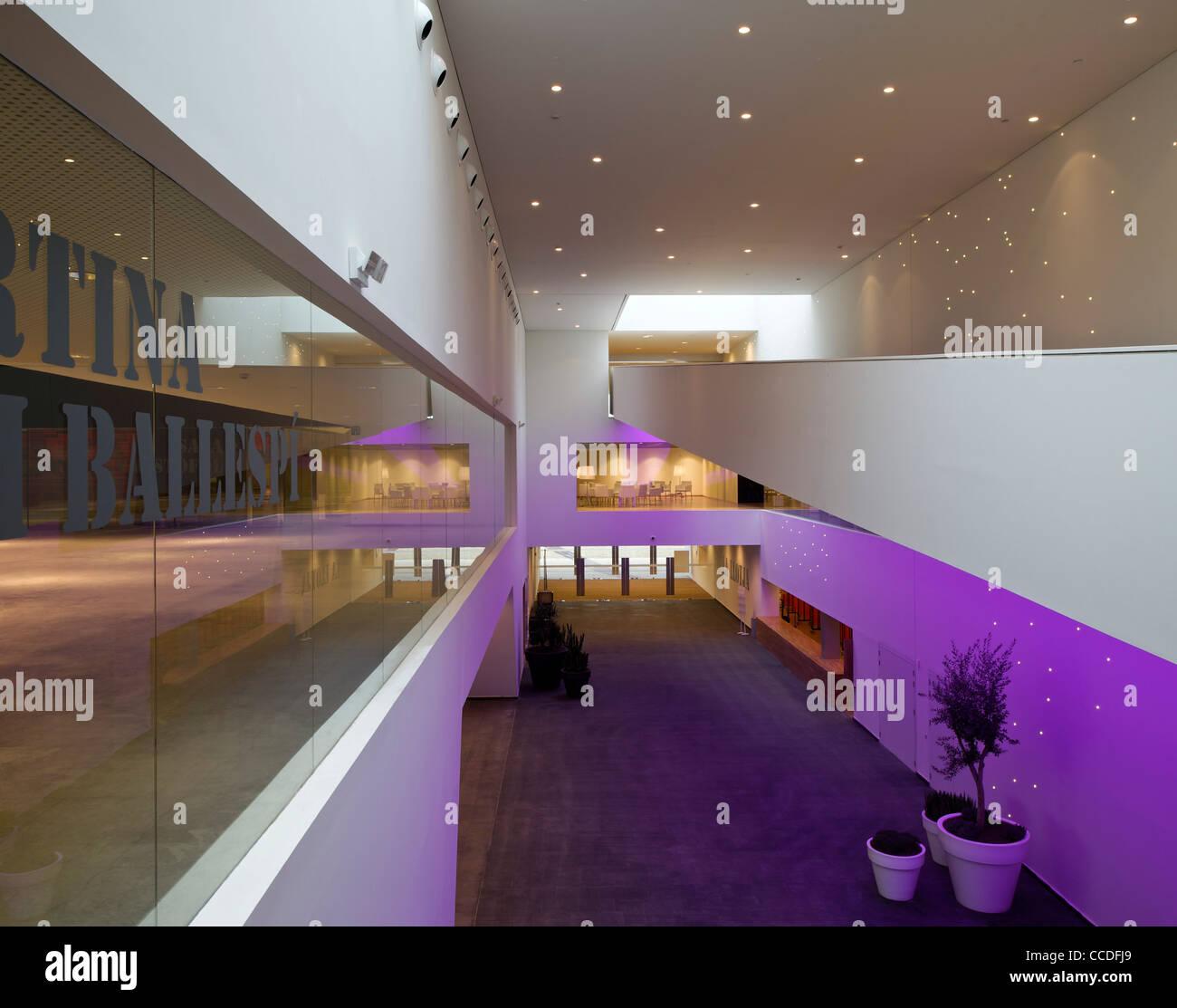 La llotja, congress theater convention center, mecanoo architects ...