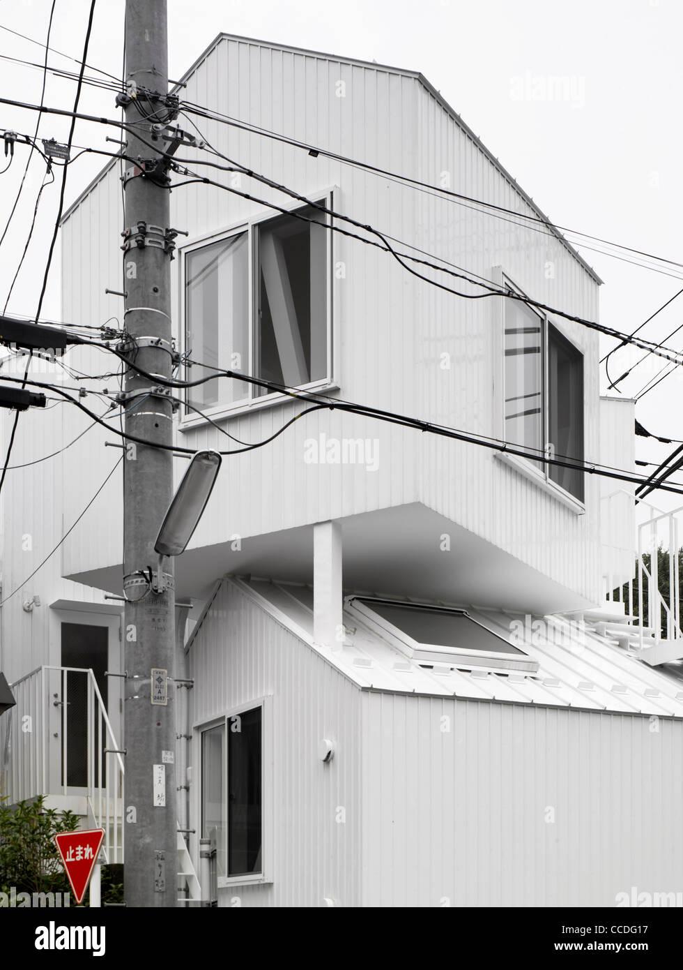 Stock Photo   TOKYO APARTMENT JAPAN SOU FUJIMOTO ARCHITECTS EXTERIOR VIEW