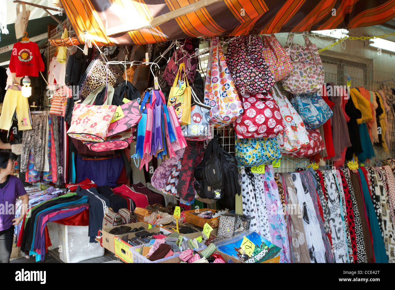 Cheap Womens Bags Scarves And Accessories Market Stall