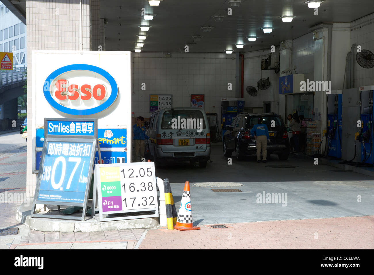 Esso Filling Station Stock Photos & Esso Filling Station Stock ...