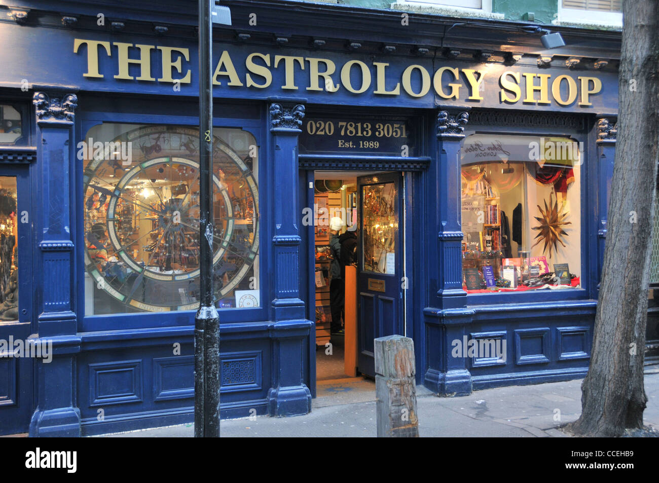 The Astrology Shop Covent Garden London Stock Photo, Royalty Free ...