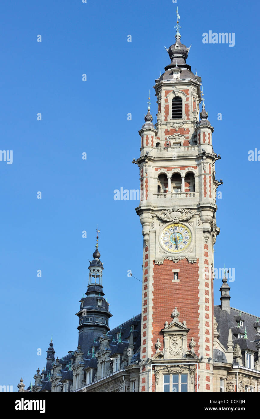Bell tower belfry of chamber of commerce at lille for Chamber of commerce france