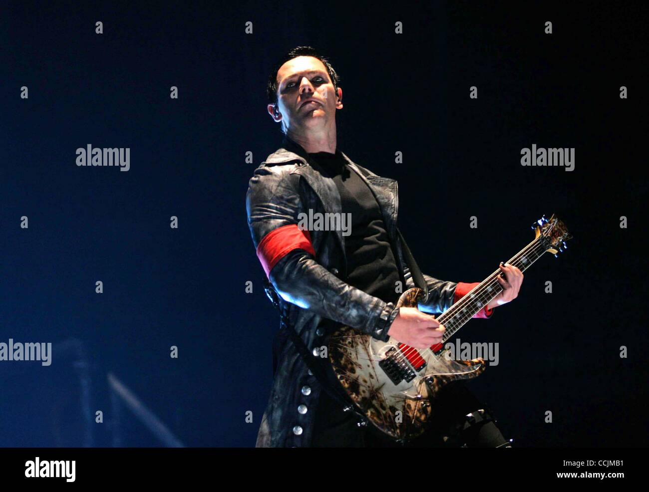 dec 11 2010 new york new york u s rammstein performs in stock photo royalty free image. Black Bedroom Furniture Sets. Home Design Ideas