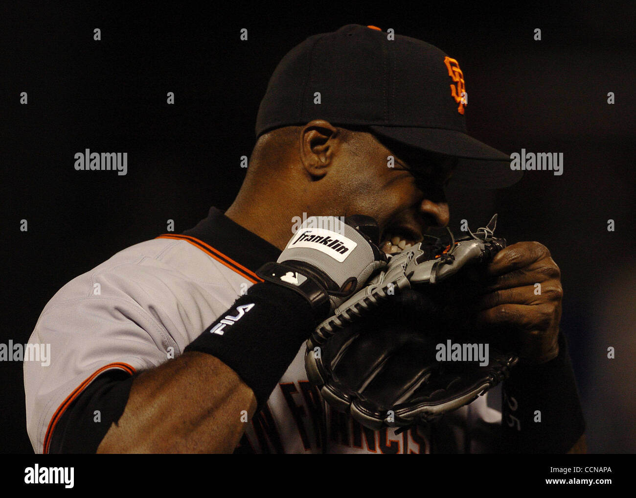 Barry Bonds Glove