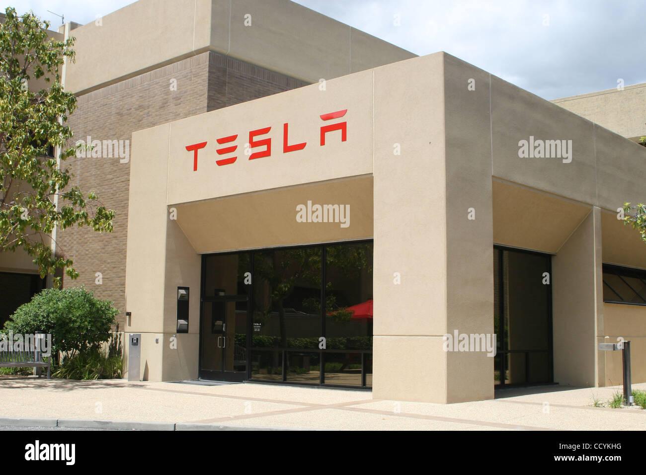 May 28 2010 palo alto california usa worldwide for Tesla motors palo alto