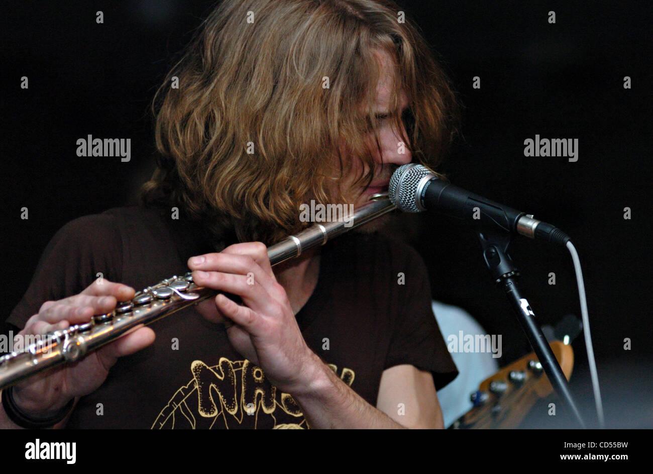 John Tipton ZUMA Press Swedish Band Dungen Led By Gustav Ejstes Plays Tuesday Nov 11 2008 At The Cellar Door In Visalia Ca
