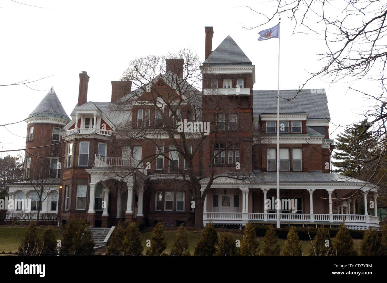 The Executive Mansion Residence Of The Governors Of New York - Governors of new york