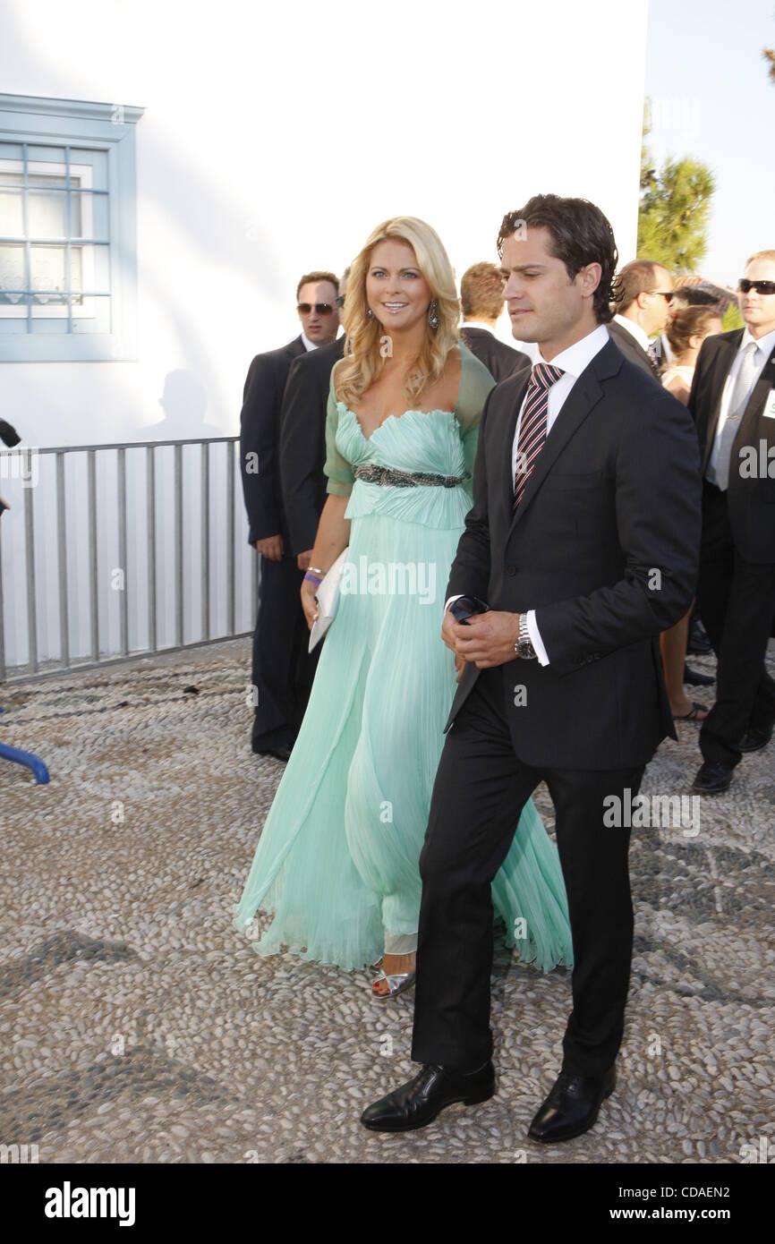 Aug. 25, 2010 - Spetses Island, Greece - Princess Madeline of Sweden ...