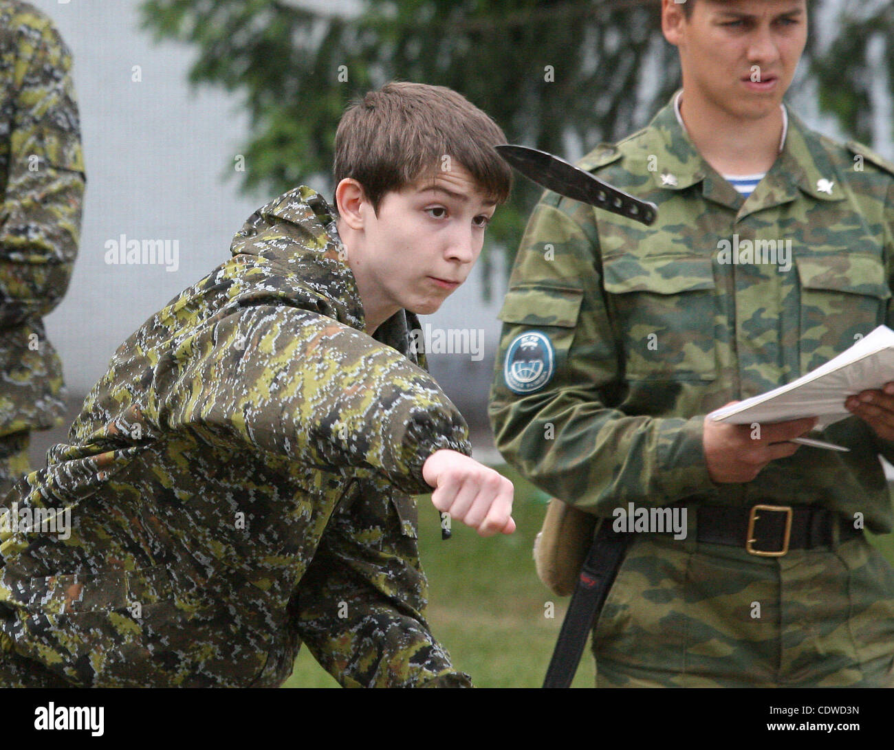 Russian Teenagers Are Getting Military Skills During The