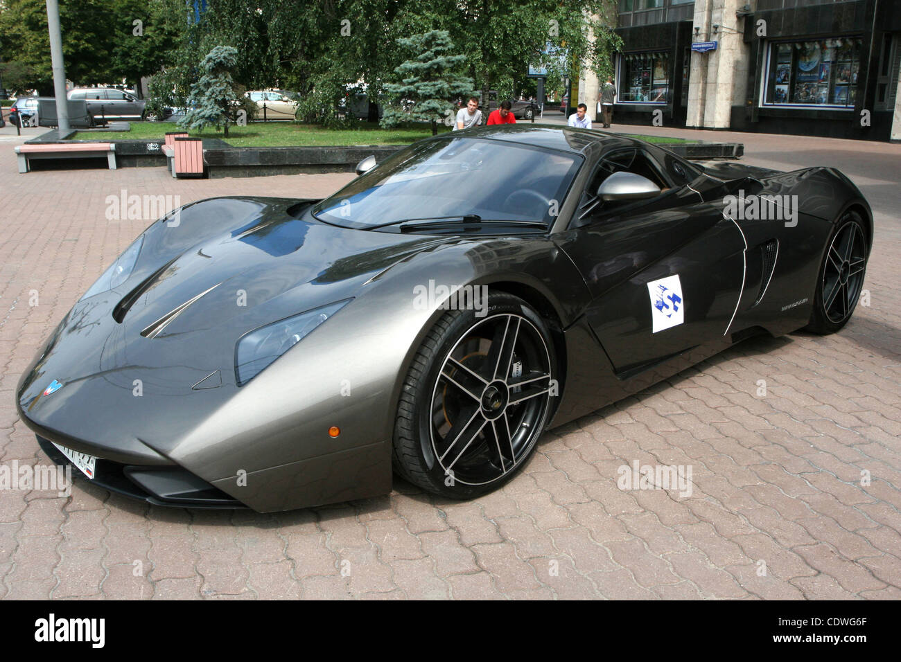 Pictured: First Russian Supercar Marussia Sportcar