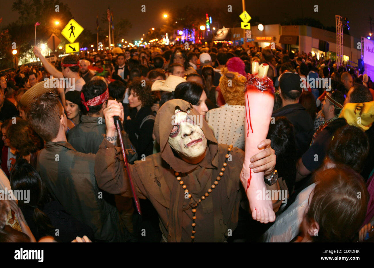 Oct. 31, 2011 - Los Angeles, California, U.S. - Halloween revelers ...