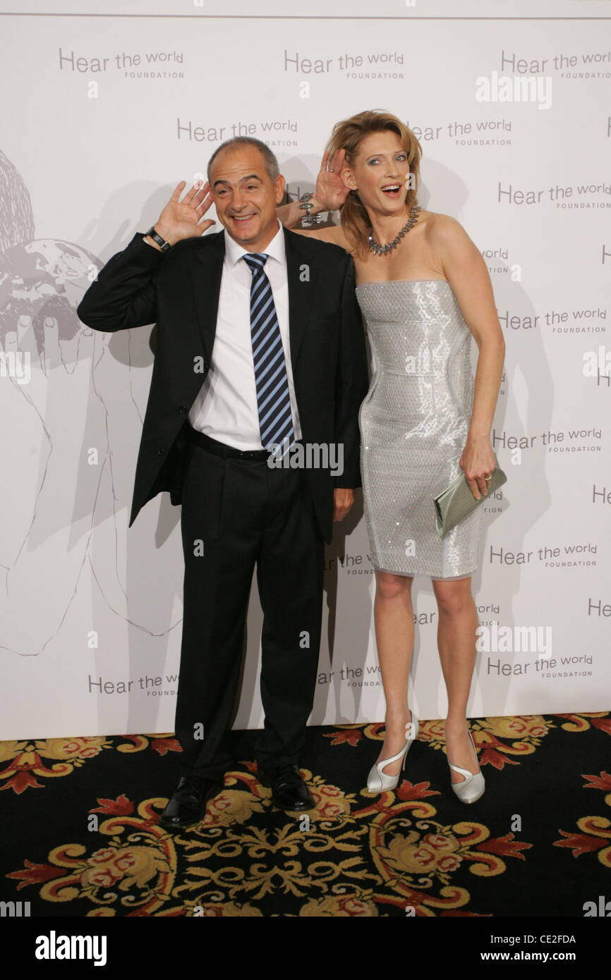 Dr. Valentin Chapero, Princess Mafalda Von Hessen At Hear The World Gala At  Ritz Carlton Hotel. Berlin, Germany   16.10.2010