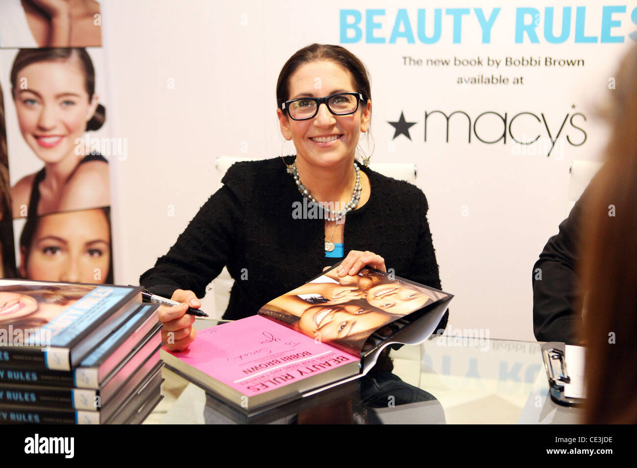 makeup artist brown signs new book beauty at
