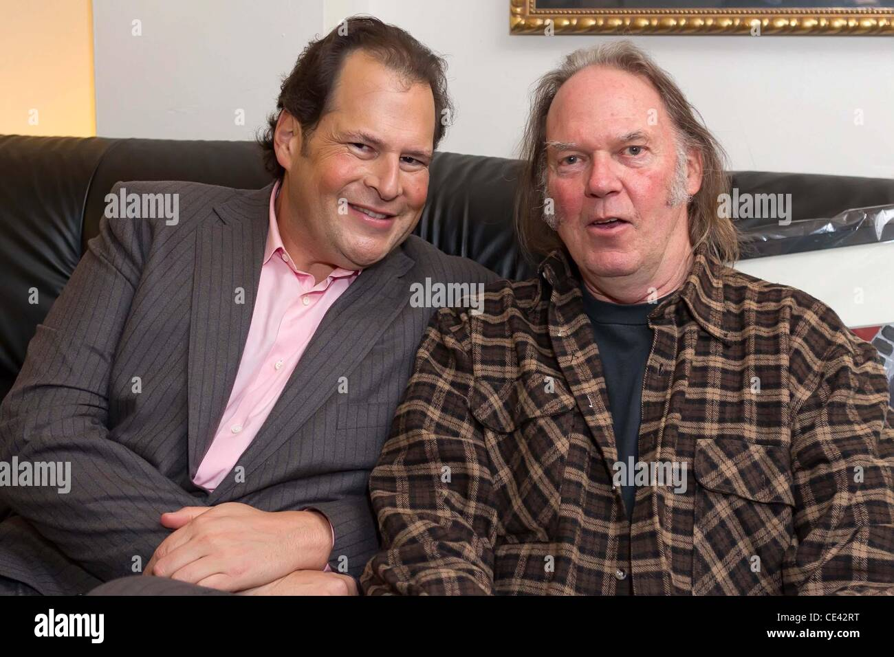 marc benioff and neil young benefit concert for ucsf benioff stock photo royalty free image. Black Bedroom Furniture Sets. Home Design Ideas
