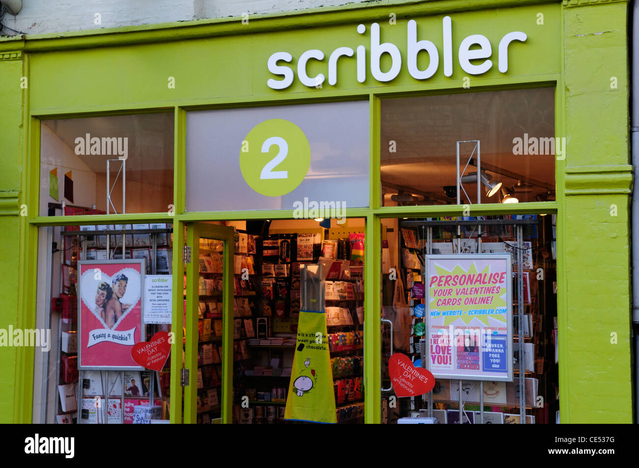 Scribbler greetings cards shop cambridge england uk stock photo scribbler greetings cards shop cambridge england uk kristyandbryce Images