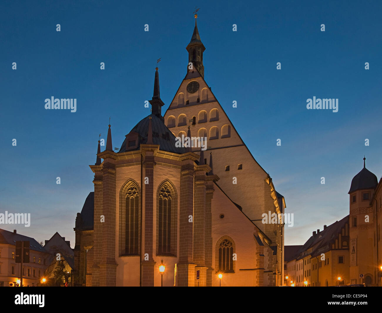 dom st marien freiberg sachsen deutschland europa cathedral of stock photo royalty free. Black Bedroom Furniture Sets. Home Design Ideas