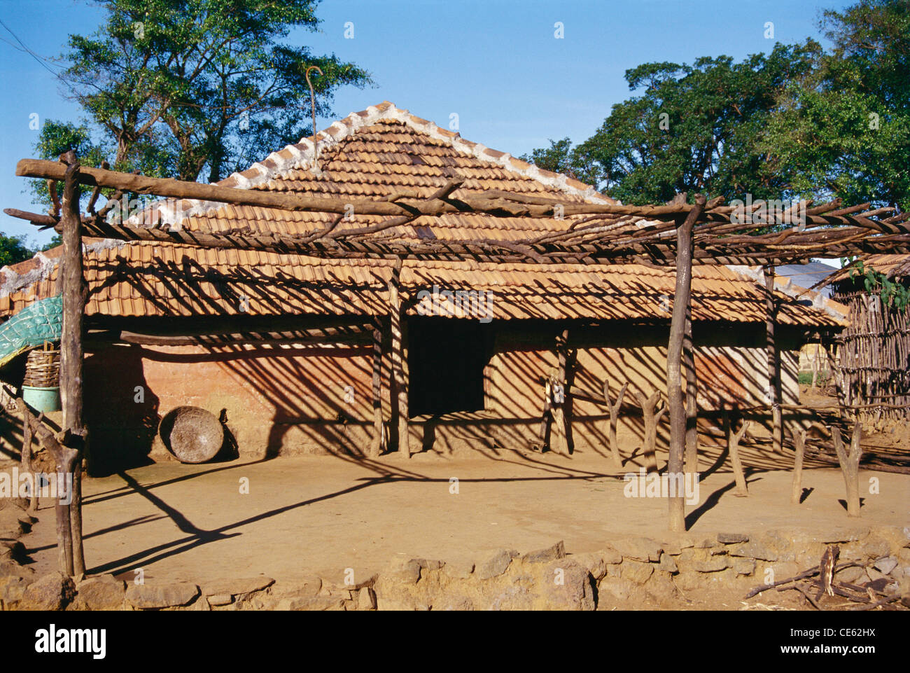 Shadow of bamboo wood roof on village house Chiplun Maharashtra India & Shadow of bamboo wood roof on village house Chiplun Maharashtra ... memphite.com