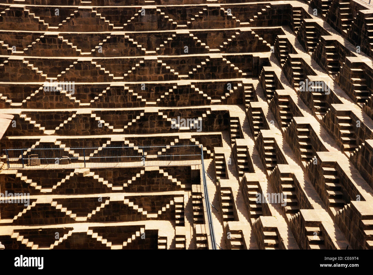 Dausa India  city pictures gallery : Chand Baori Stepwell Dausa ; Rajasthan ; India Stock Photo, Royalty ...