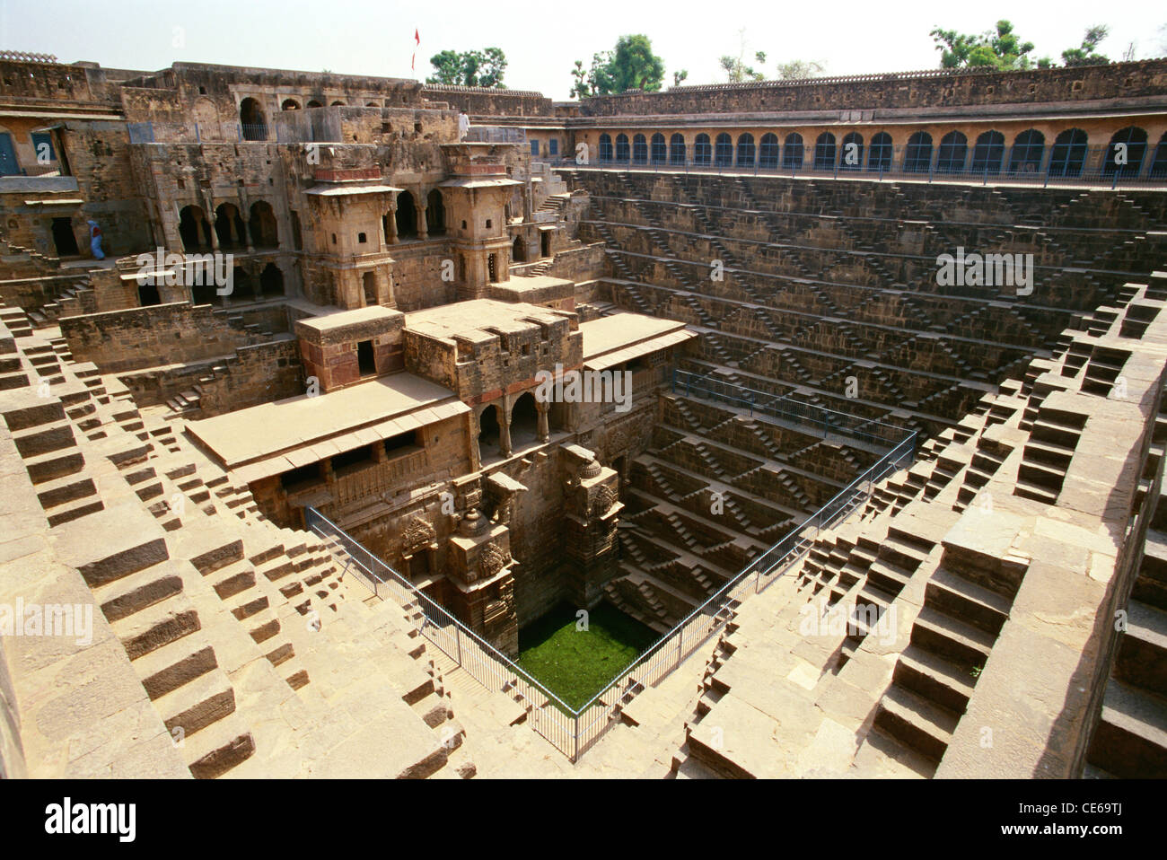 Dausa India  City pictures : Chand Baori Abhaneri Dausa ; Rajasthan ; India Stock Photo, Royalty ...
