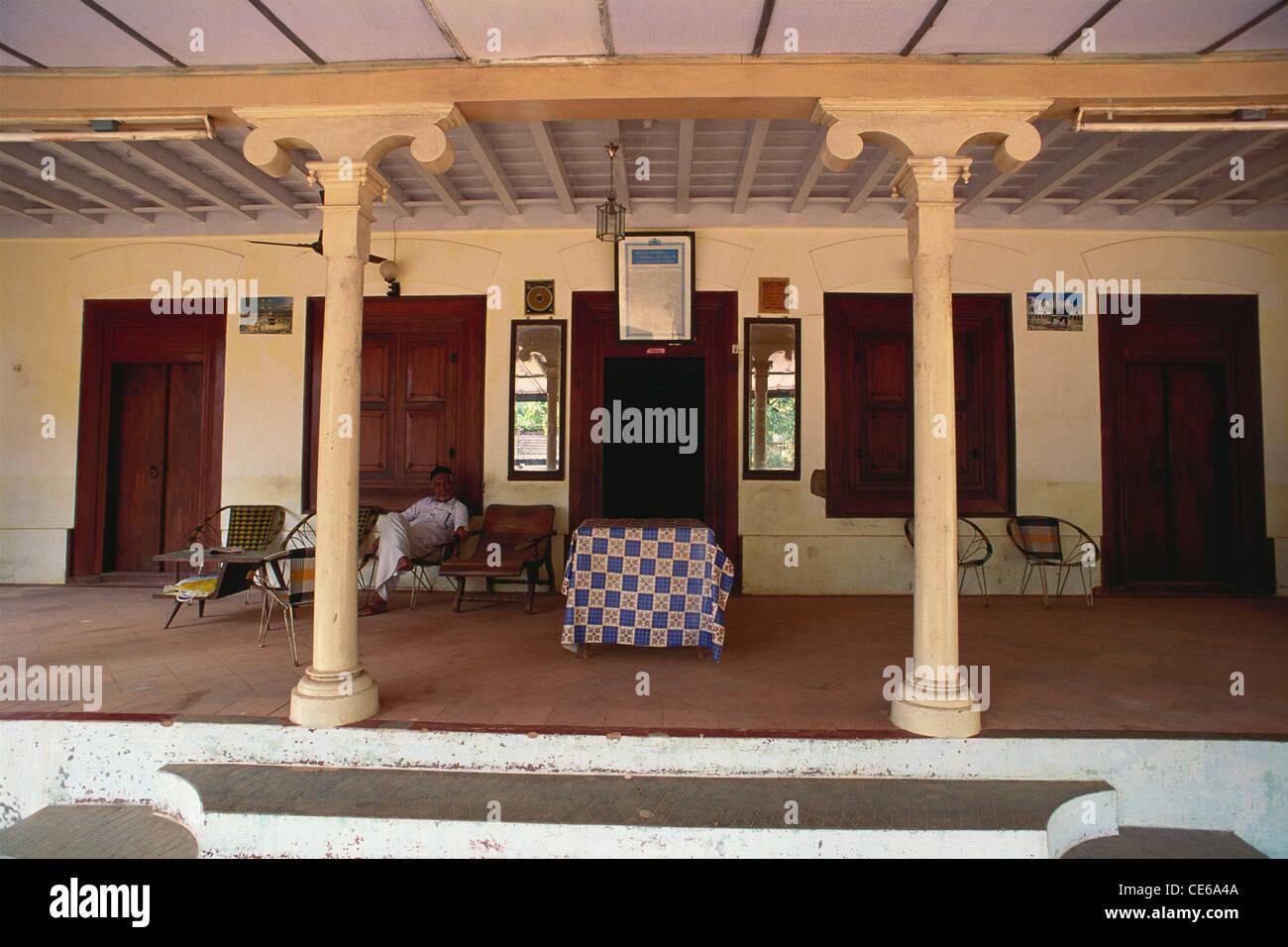 Moplah Kerala Muslim Old House At Calicut Kerala India