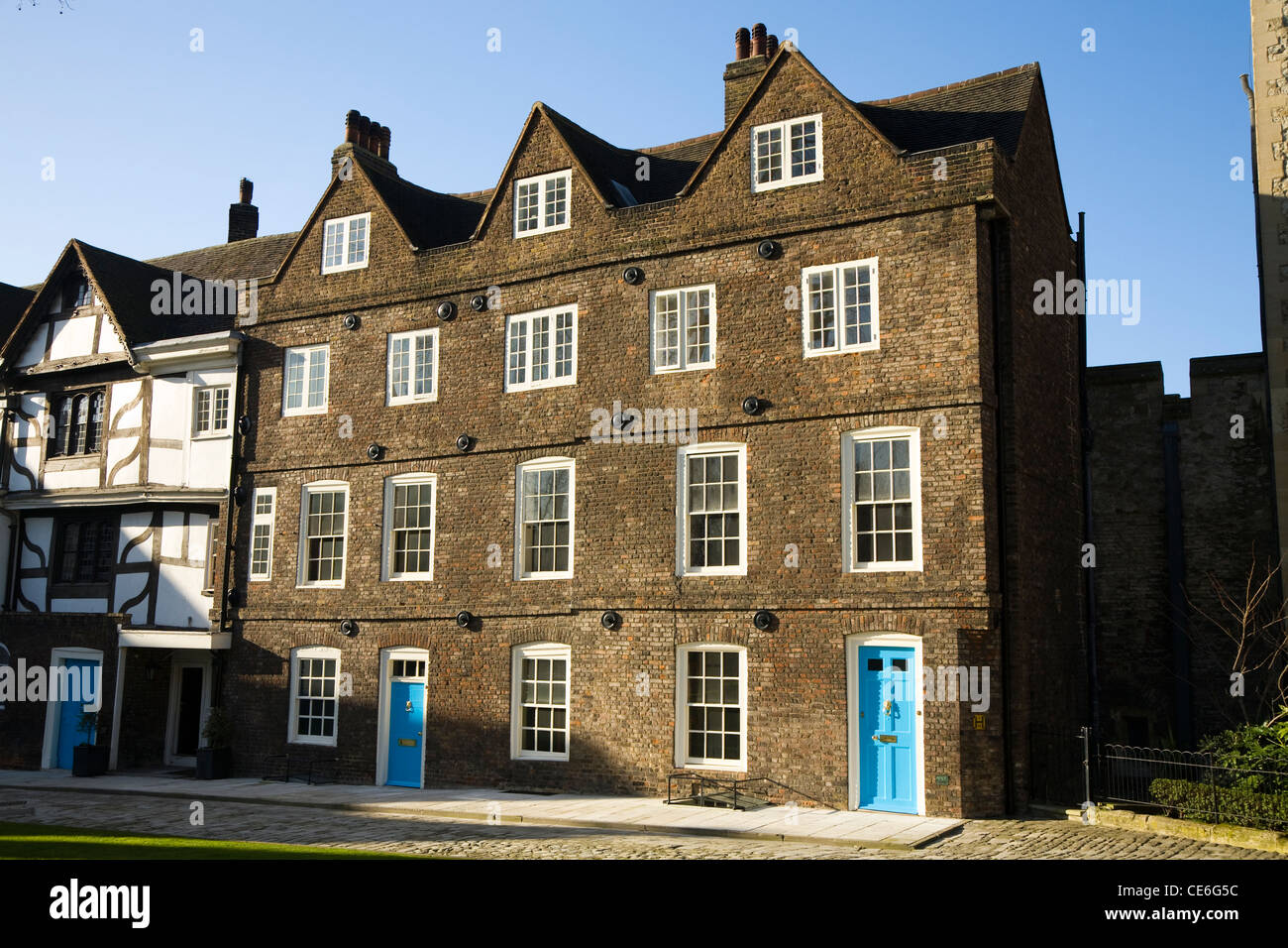 old terrace / terraced houses / housing / apartment