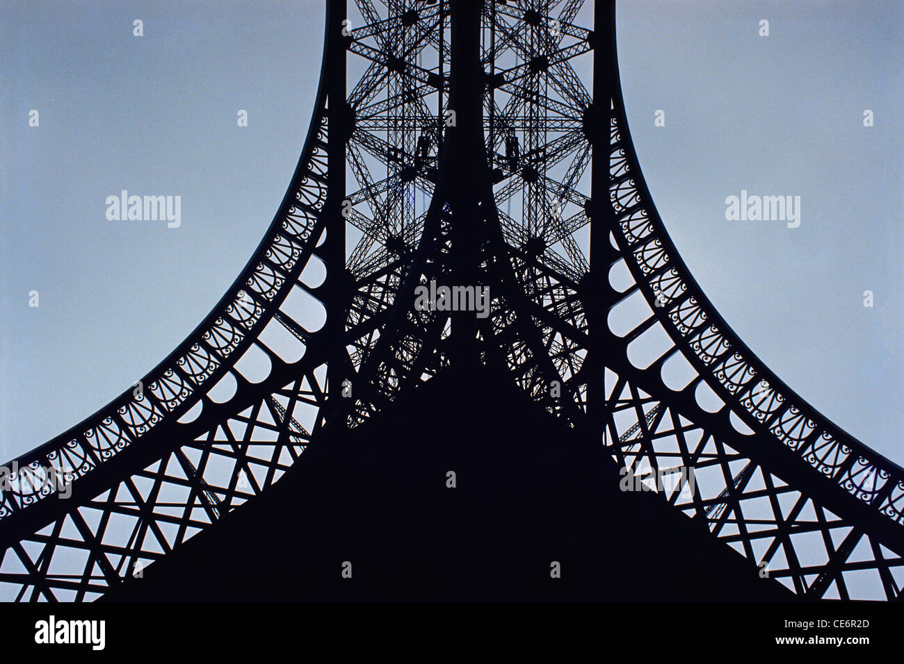 Eiffel Tower Close Up Design