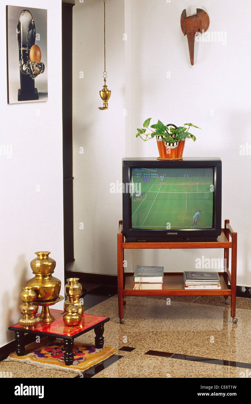 Wall Hanging For Living Room Hma 85897 Tv Television On Trolley In Drawing Living Room